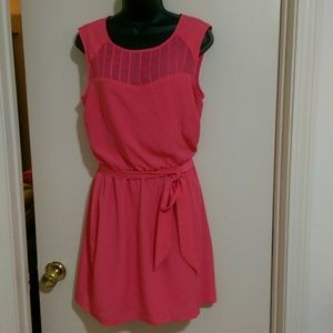 Guess pullover dress with belt